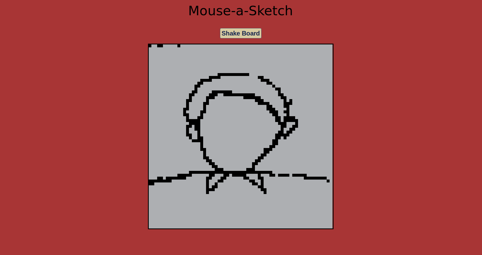 Mouse-a-Sketch